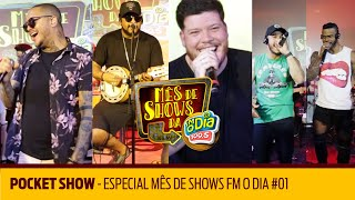 Baixar Pocket Show - Especial Mês de Shows FM O Dia #01