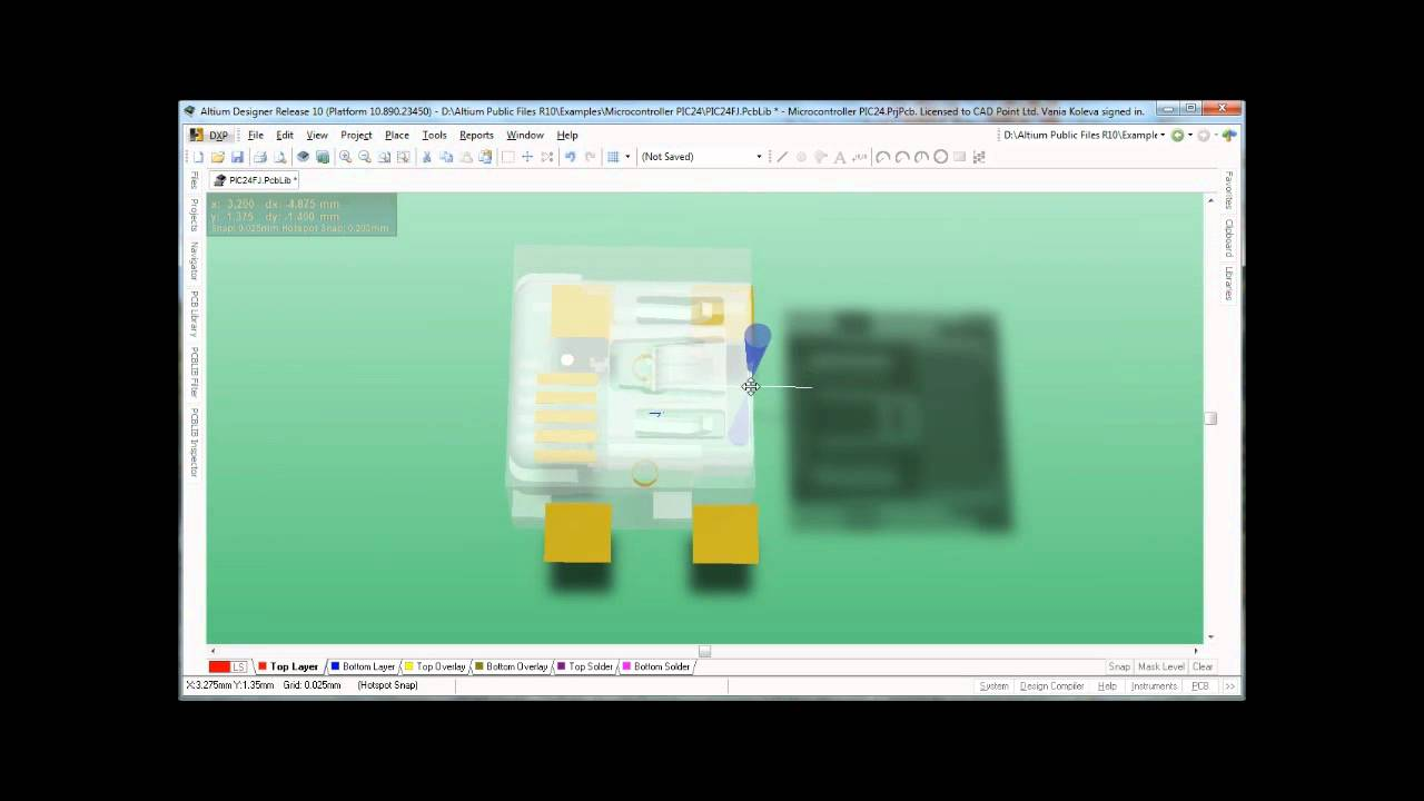 Adding 3D body in Altium PCB library