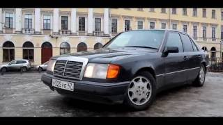 Тест драйв Mercedes Benz W124 легенда 90х (обзор)