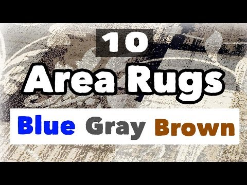 Best Blue Gray And Brown Area Rug