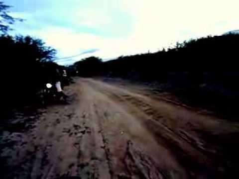 Racha Orlando (FAN 150) VS ROBERTO (YBR 125) Equipe Terra nos Zoiii