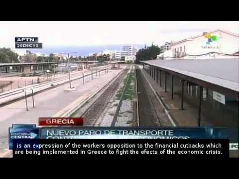 Greece: new transport workers strike