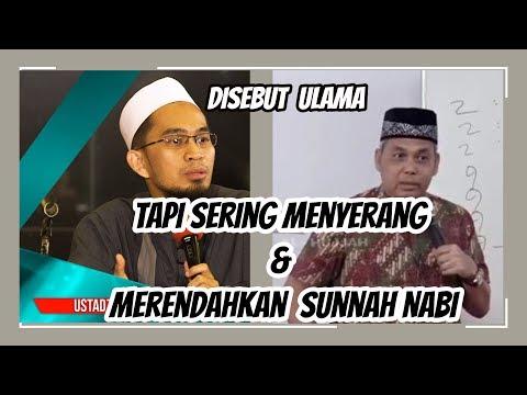 ustadz Adi Hidayat,Lc.MA ,ustadz Munzir Situmorang || Ulama, tapi menghina sunnah Nabi