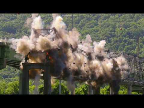 Watch as ALDOT Blows up the B.B. Comer Bridge in Scottsboro, AL