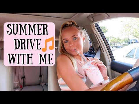 DRIVE WITH ME + END OF SUMMER PLAYLIST 2019 | GRACE TAYLOR thumbnail