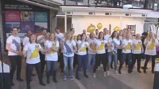 Surprise visit by ABBA The Museum/The Choir