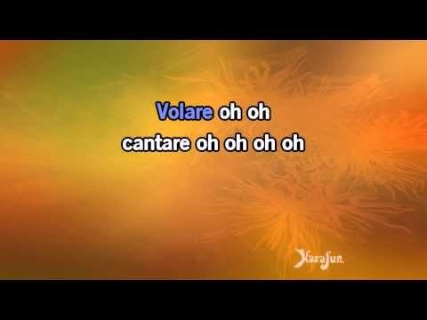 Karaoke Volare Nel blu dipinto di blu  The Gipsy Kings *