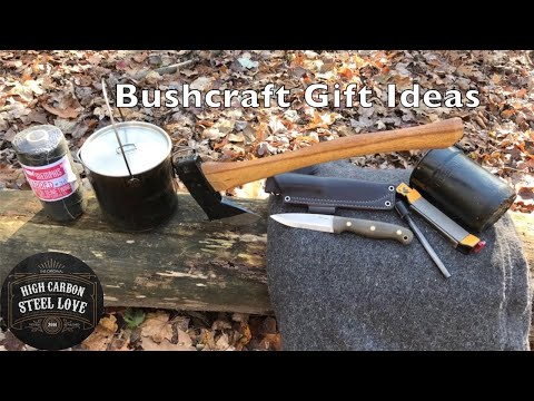 5 C's Bushcraft Gift Ideas That Keep On Giving - HighCarbonSteel Love