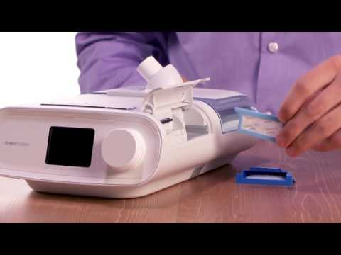 Philips Respironics DreamStation Auto Cpap setup with humidifier ( Source- Philips Healthcare)
