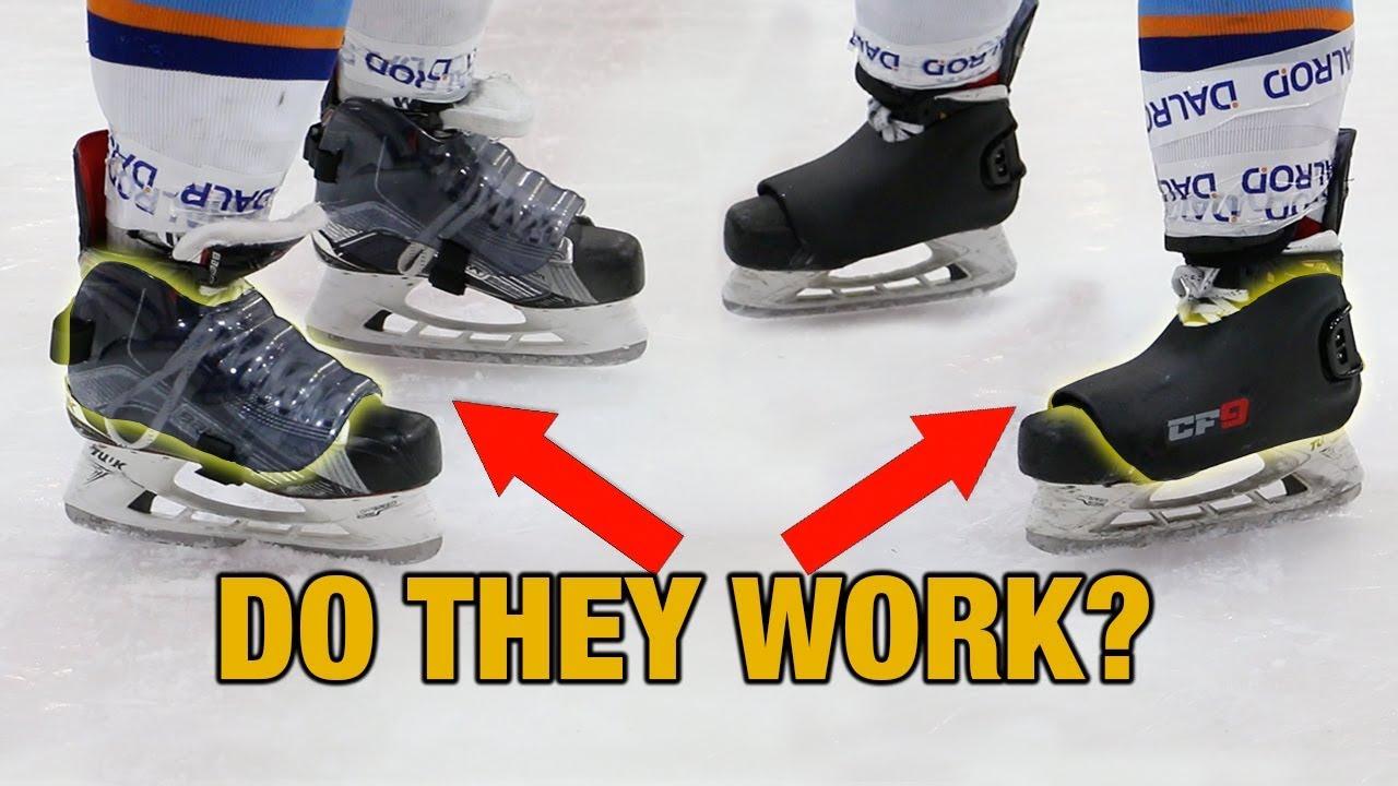 High Impact Slap Shot Hockey Skate Protectors Skate Fender Vs