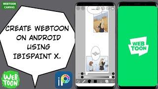 IBISPAINT X का उपयोग करके एंड्रॉइड फोन पर वेबटून कैसे बनाएं | मेरी प्रक्रिया | जिआहं कला screenshot 3