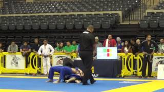IBJJF San Antonio Fall IO - Corey Bacak (PSBJJ) vs. Jacob Allphin (Davis BJJ)