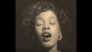 Watch Sarah Vaughan It Never Entered My Mind video