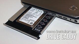 Instalando un Caddy Drive y Migrando sistema del HDD al SSD