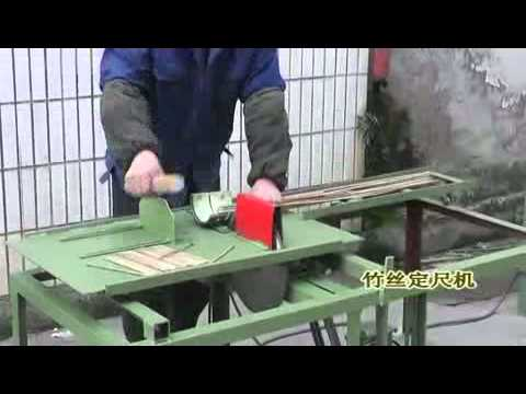 Производство зубочисток