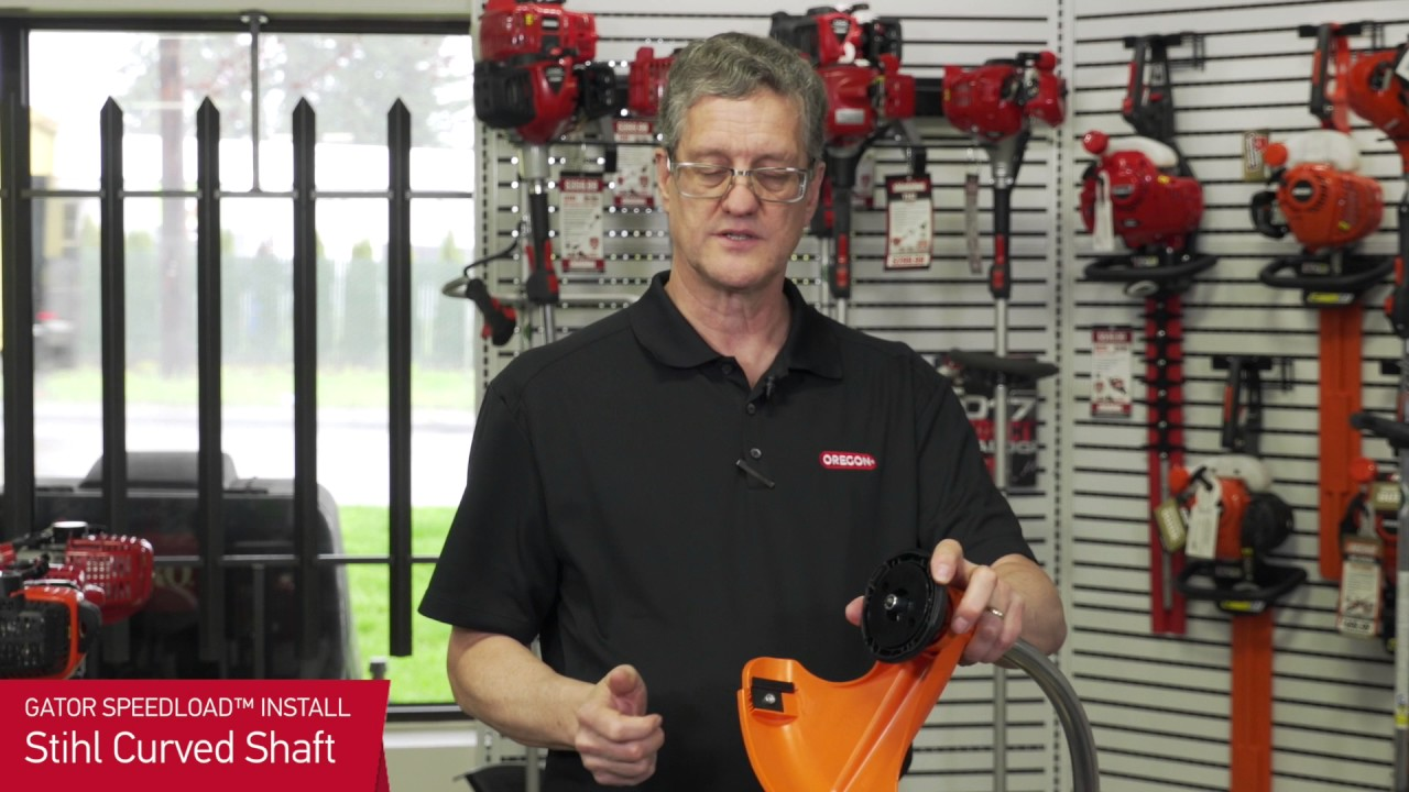 Gator SpeedLoad Installation- Stihl Curved Shaft Trimmer