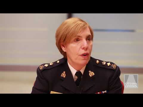 RCMP Superintendent Shirley Cuillierrier