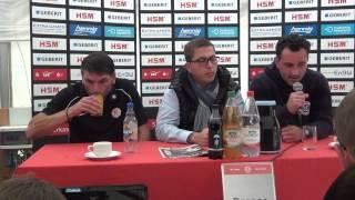 Pressekonferenz SC Pfullendorf  - Hessen Kassel
