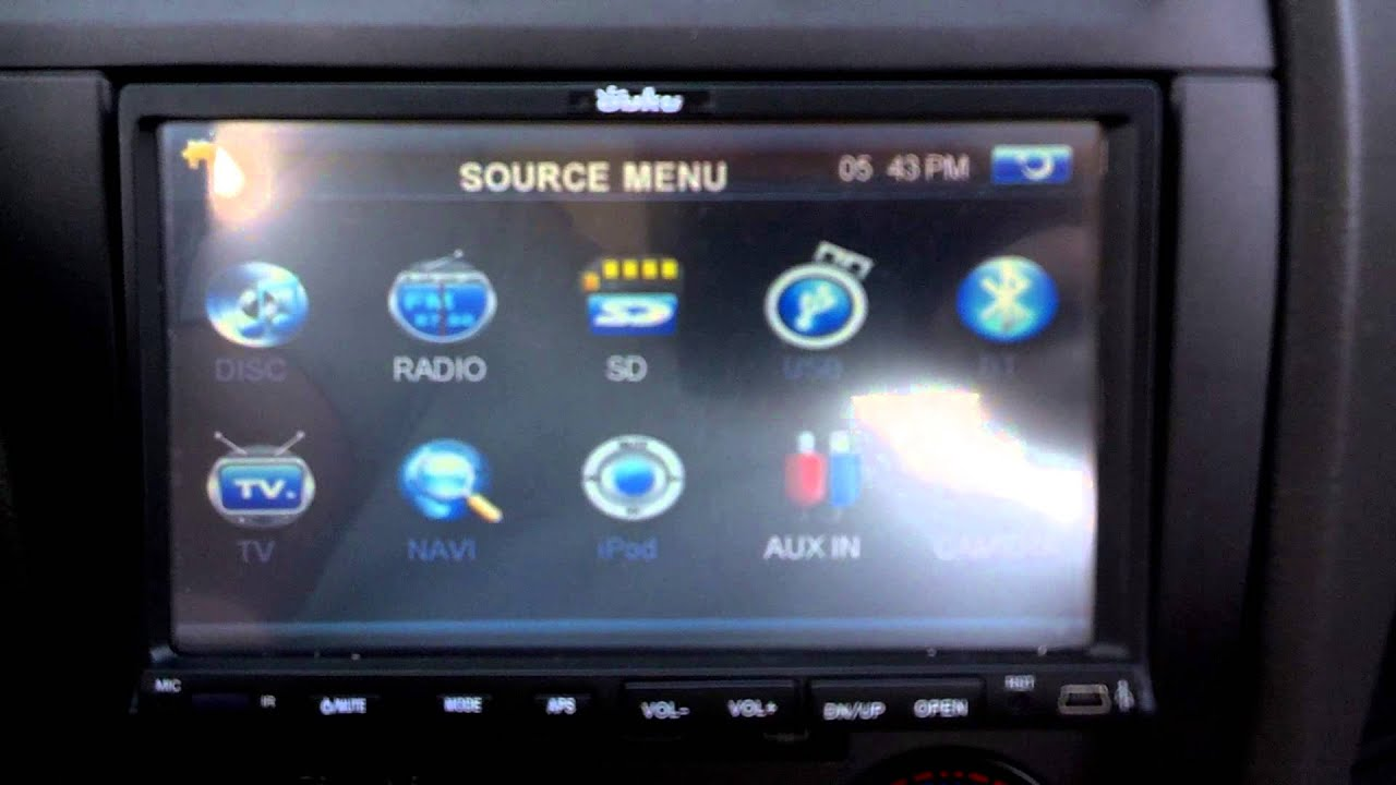 Android   Double Din Car Radio Ouku