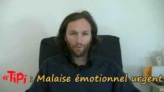 Vidéo d'urgence : crise d'angoisse, panique, colère,déprime...