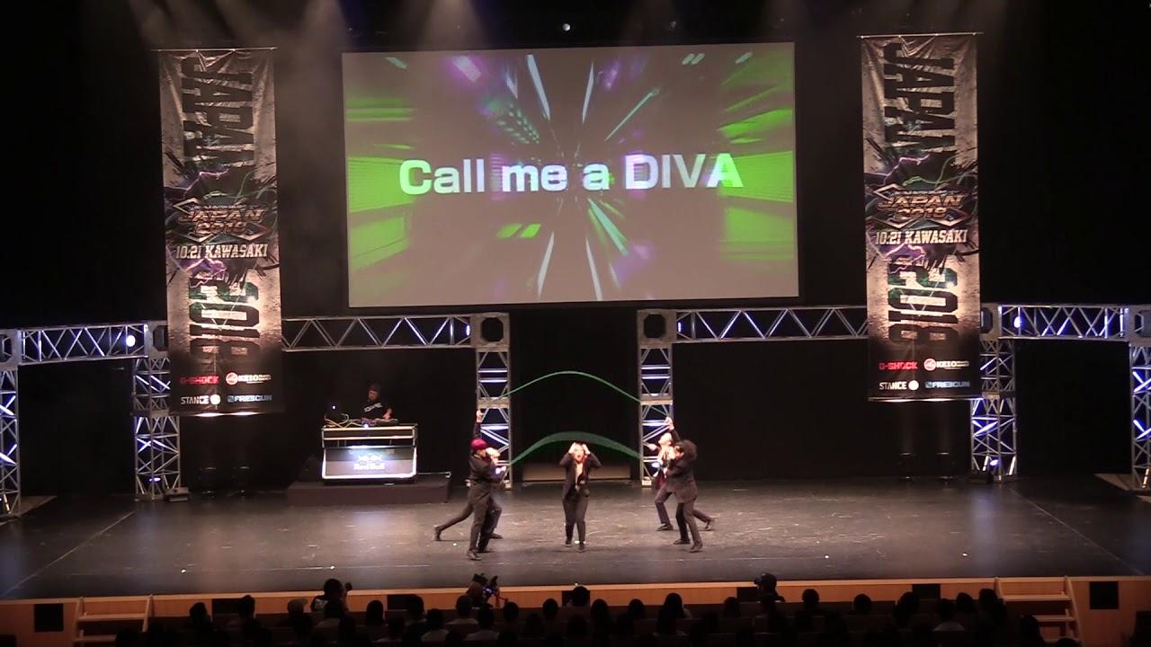 Double Dutch Delight Japan 2018 『Call me a DIVA』 一般部門 2位