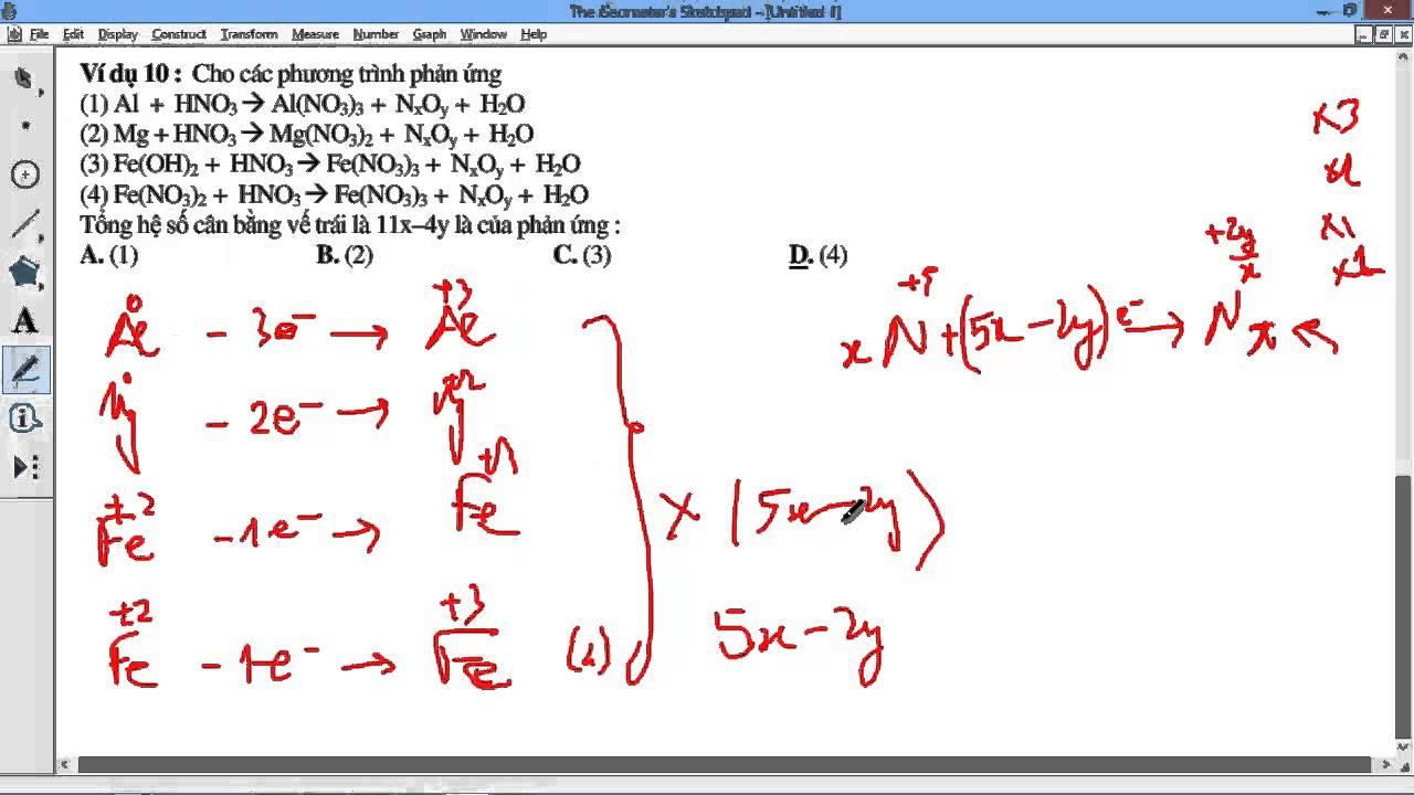 [Mất căn bản HÓA] Vấn đề 7 P3 Ứng dụng những thứ đã học vào giải các bài toán oxh khử