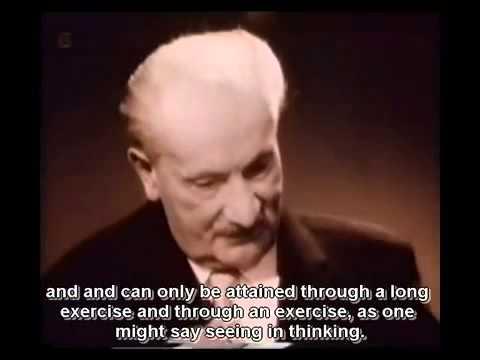 Being and Time Heidegger Speaks  Part 1  English subtitle