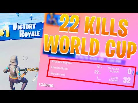 22 Elim Win In The Fortnite World Cup Qualifiers