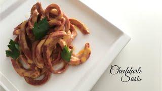 Cheddarlı Sosis - Yemek Tarifleri / Pratik Tarifler - Melis'in Mutfağı