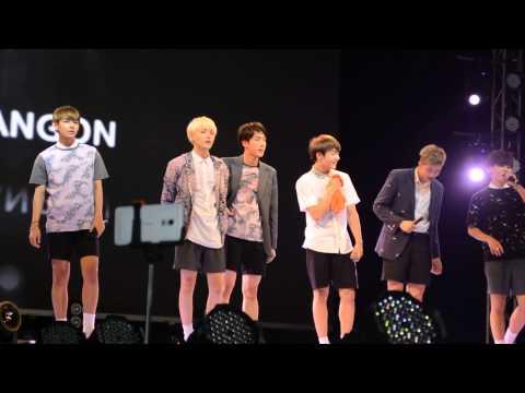 JIN AGEYO and Talk BTS in Myanmar 2015