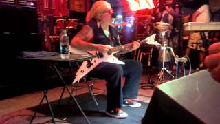 David Allan Coe Iron Horse 2013 Talks about his accident in detail