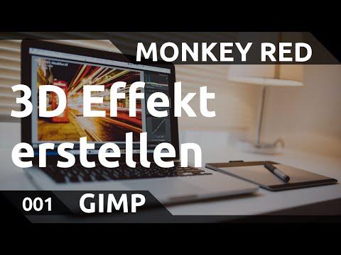 GIMP: 3D Effekt von Objekten erstellen