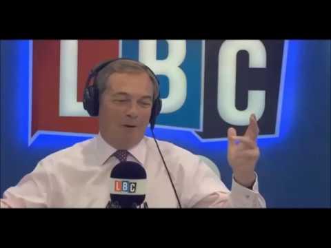 Nigel Farage Hosts LBC Live in Manchester