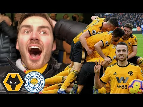 4-3 THRILLER - LAST MINUTE WINNER! Wolves Vs Leicester Matchday Vlog