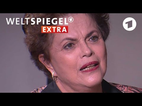 Dilma Rousseff em entrevista exclusiva para a TV alemã ARD