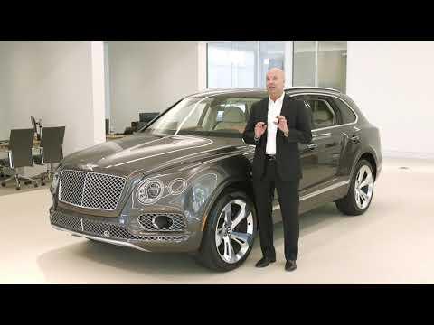 The 2018 Bentley Bentayga