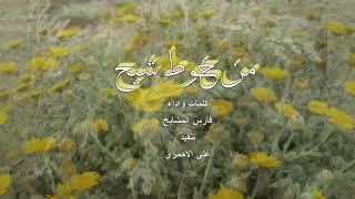 من خوط شيح خطوة جنوبية كلمات واداء فارس المشايخ 🎤