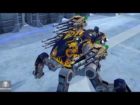 NEW Pulser Energy Weapon   Test Server 4.0   War Robots