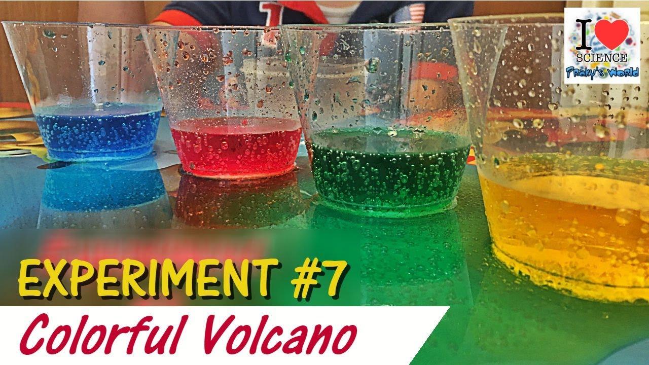 vinegar baking soda colorful volcano experiment 7 prakhar trikha viral video youtube. Black Bedroom Furniture Sets. Home Design Ideas