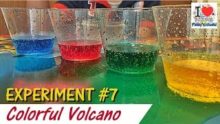 Vinegar + Baking Soda Colorful Volcano | Experiment 7 | Prakys World | Viral Video