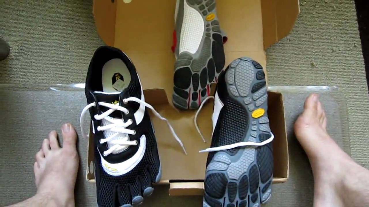 Vibram Five Fingers Speed First Look - YouTube 533b21d48