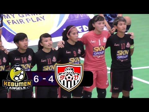 Highlights Kebumen United Angels Vs UPI Bandung Liga Futsal Indonesia - WPFL 2019
