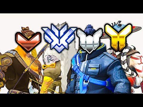 1 Hanzo of EVERY Rank - Who Wins? - Overwatch thumbnail