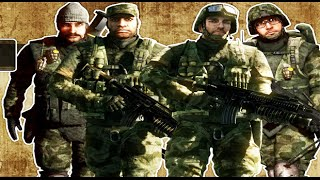 Battlefield Bad Company All Cutscenes HD GAME Movie
