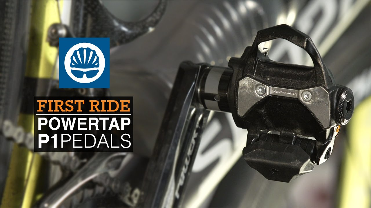 299fbab8fea PowerTap P1 pedals - First Ride - YouTube