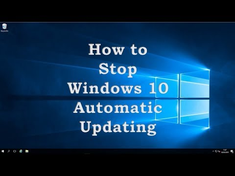 Windows 10 pro turn off automatic updates group policy