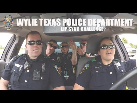 Wylie Texas Police Department Lip Sync Challenge