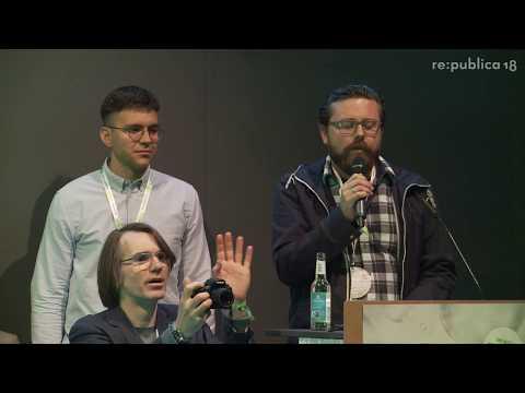 re:publica 2018 – Metall auf Metall, Kunstfreiheit & Urheberrechte