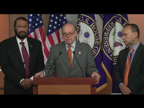 RAW VIDEO: 5 House Dems introduce impeachment articles against Trump