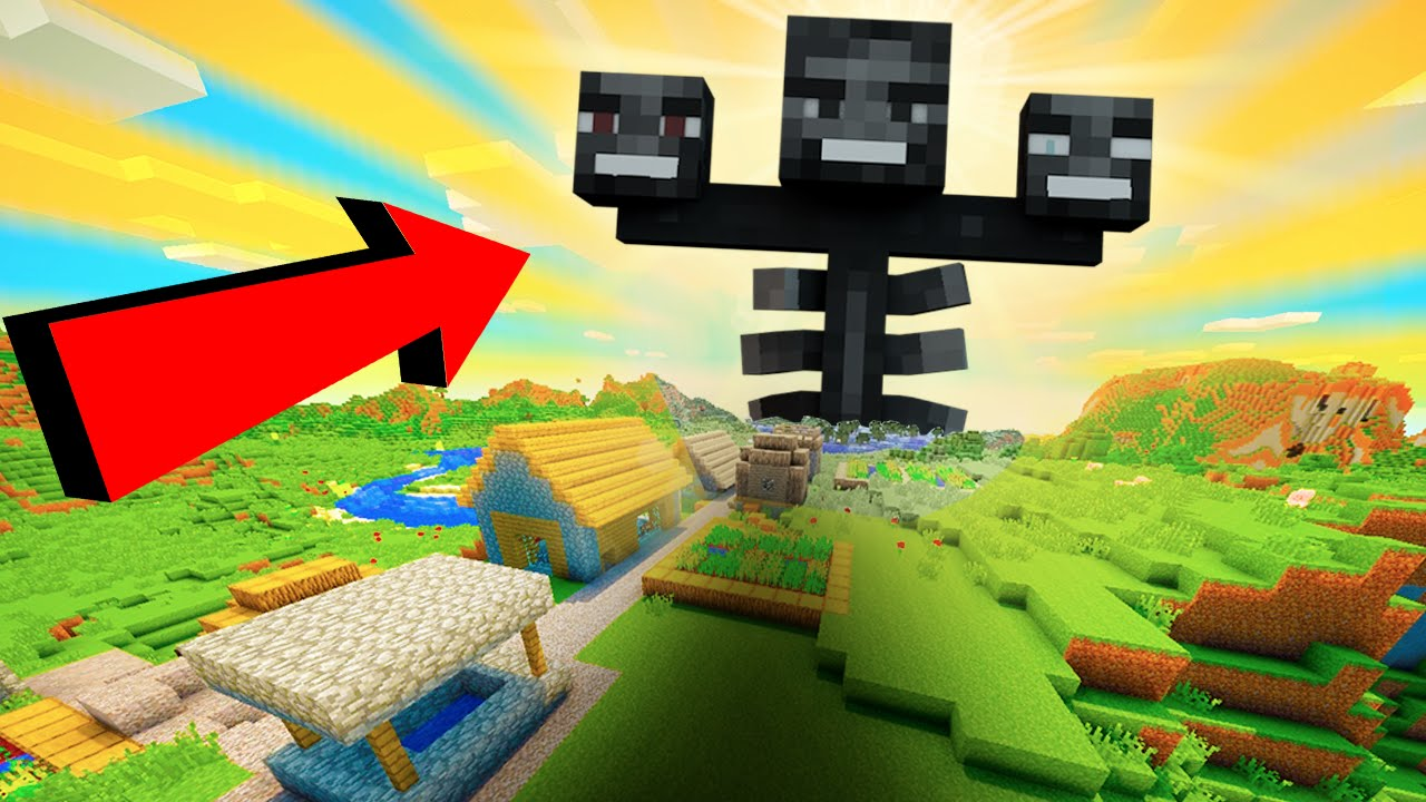 MINECRAFT: 11 SECRET COMMANDS!! (Giant Wither, Creeper Nuke, & More!)